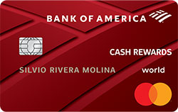 Tarjeta de crédito Cash Rewards de Bank of America